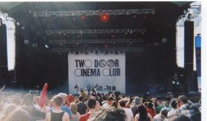 Two Door Cinema Club on the Main Stage @ Oxegen 2011