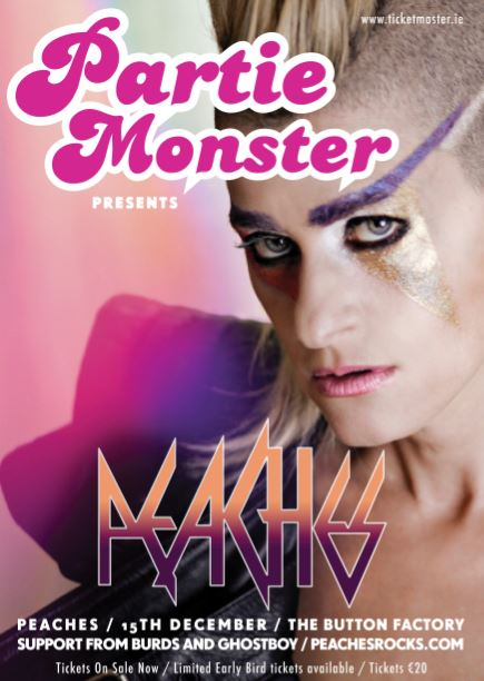 Partie Monster returns in December.