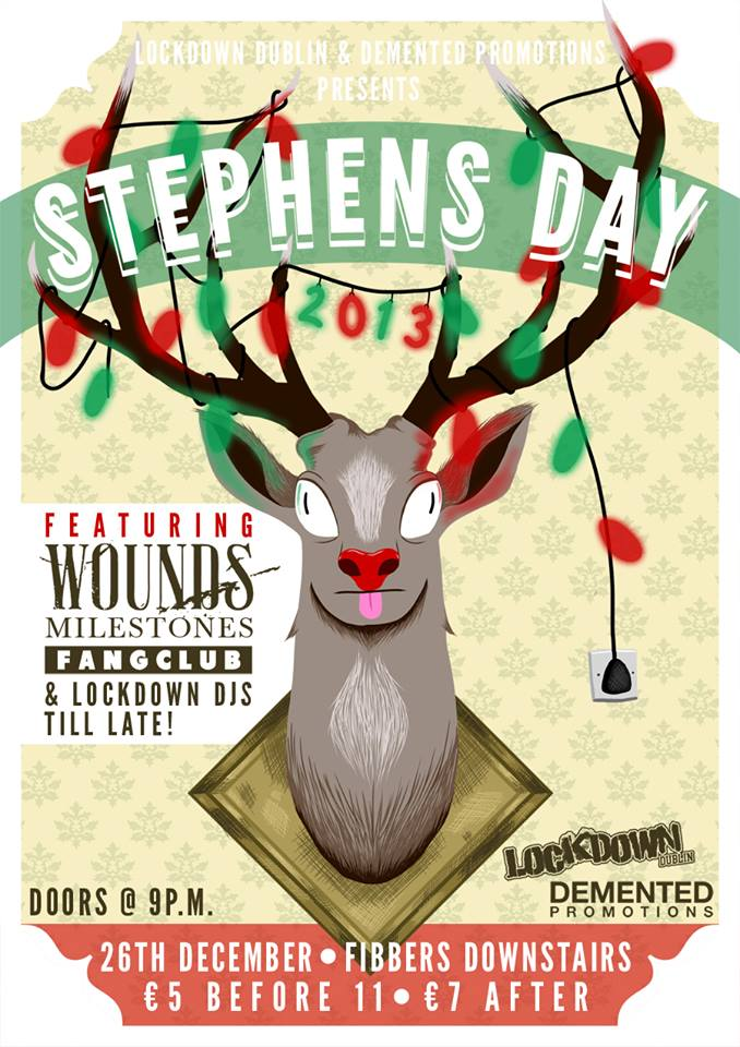 Lockdown are looking to rock you this Stephens Day