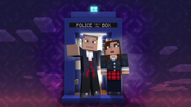 Doctor Who arrives to Minecraft on Xbox
