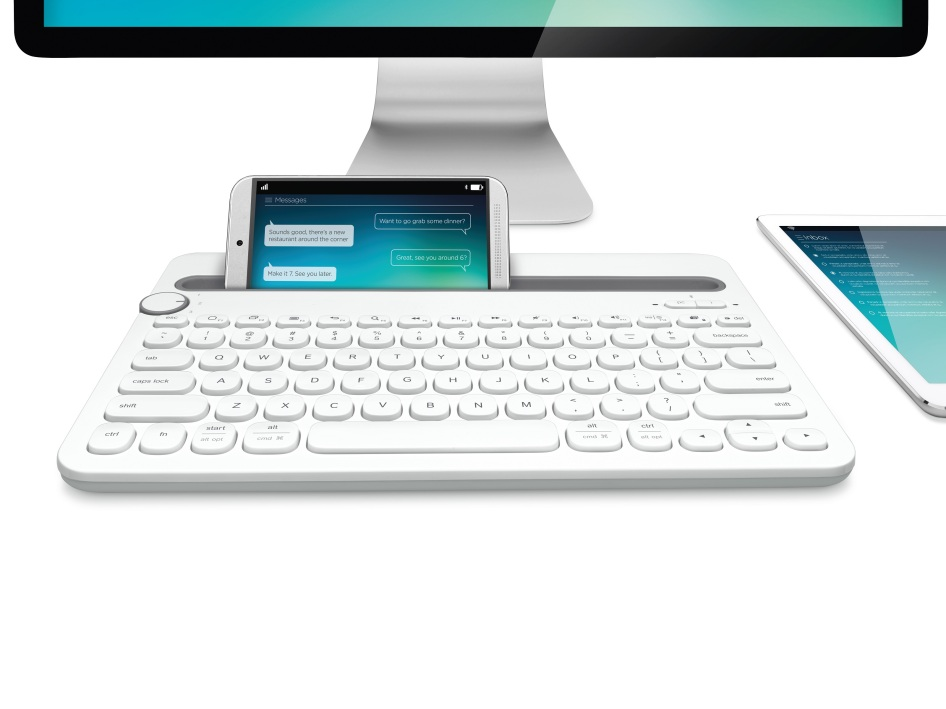 Logitech have made a keyboard for your Computer, Smartphone and Tablet