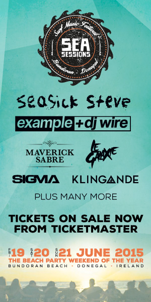 SEA SESSIONS | Ireland's Biggest Beach Party Returns | Seasick Steve, Example& DJ Wire, Maverick Sabre
