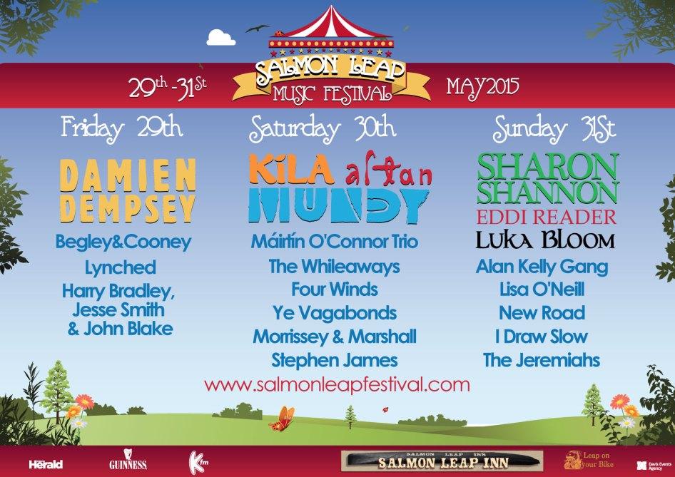 Salmon Leap Festival 2015