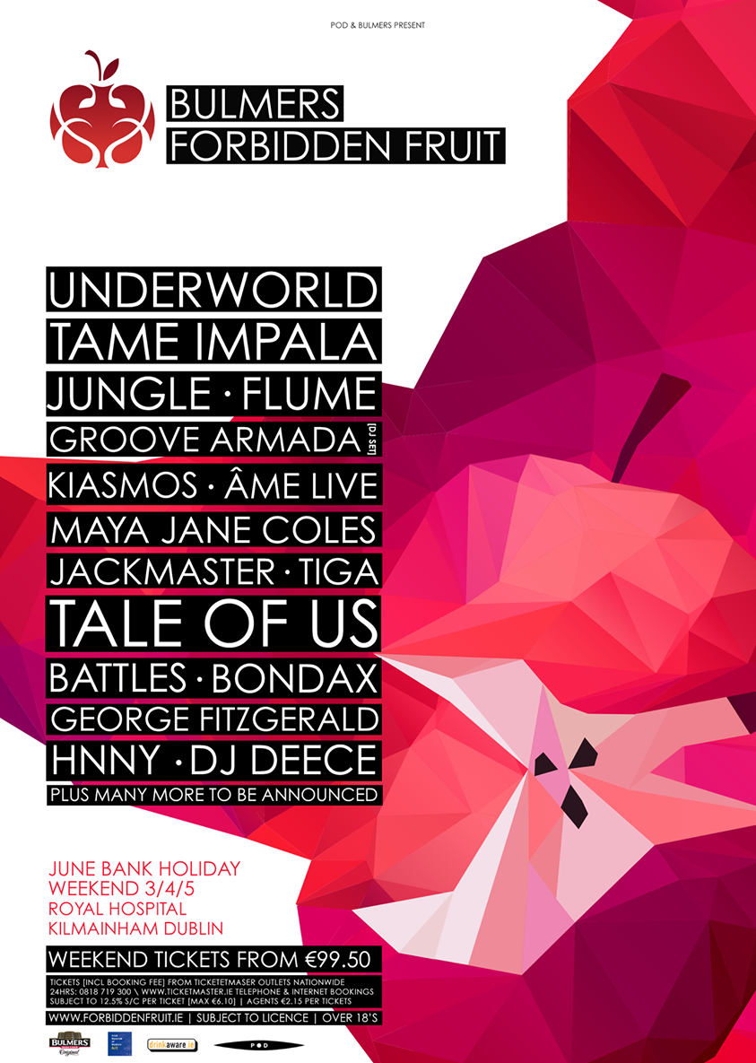 Forbidden Fruit Festival 2016 line-up