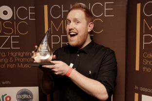 Choice Music Prize Irish Song Of The Year 2015 was awarded to Gavin James Photo: Graham Keogh.