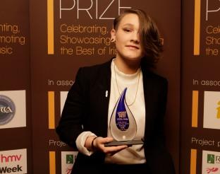 The Choice Music Prize Ð Irish Album of the Year 2015 Winner SOAK. Photo: Graham Keogh.