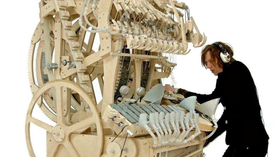 Swedish musician Wintergatan's Marble Machine