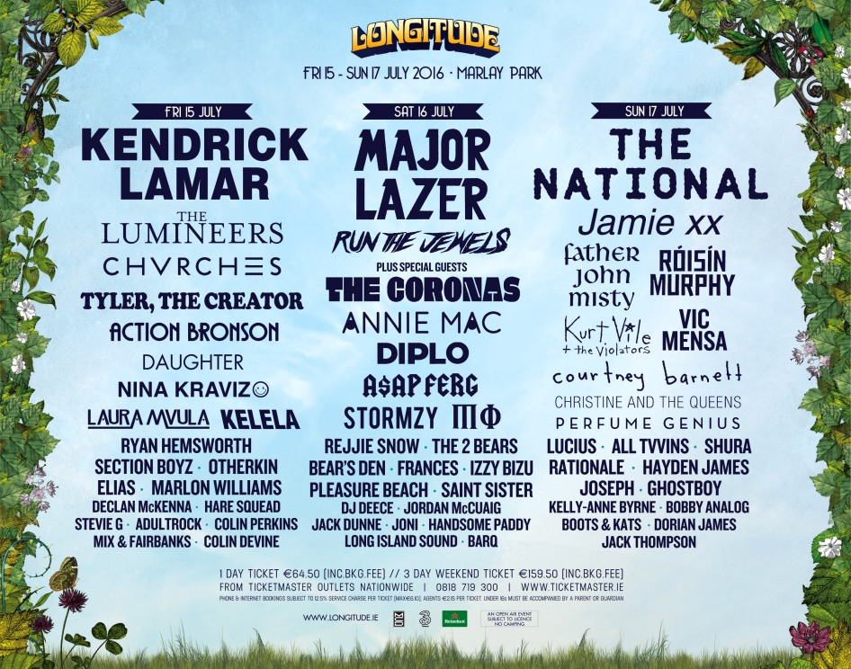 Longitude Day by Day Breakdown - Final