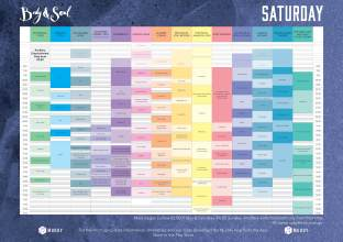 Body&Soul Saturday Line Up