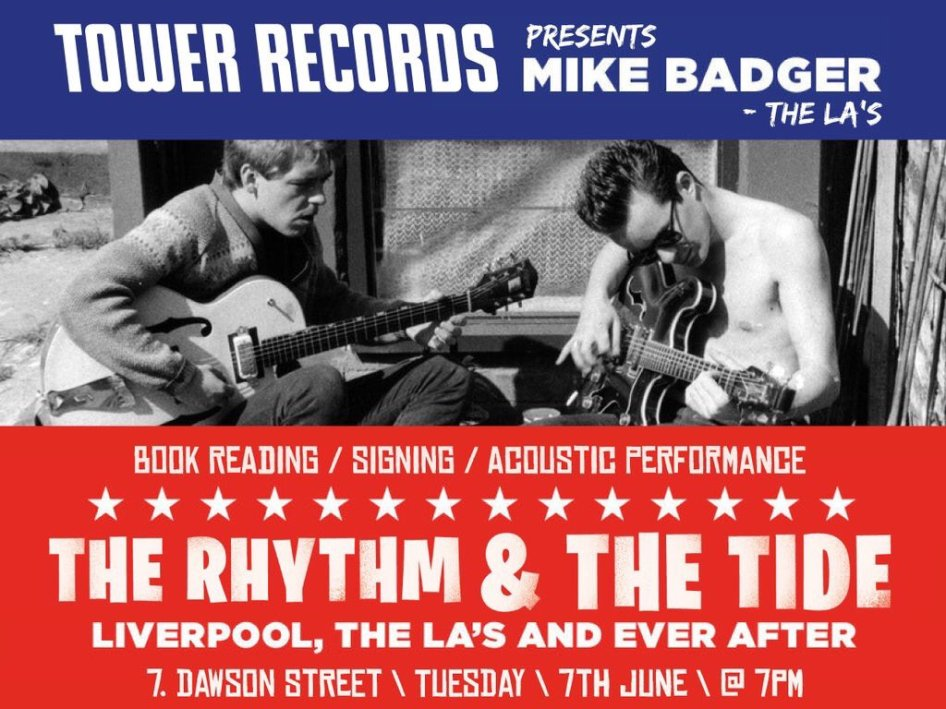 The La's Mike Badger Tower Records
