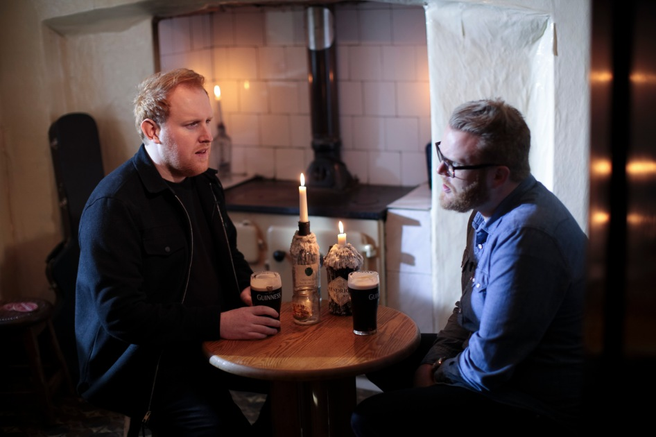 Gavin James and Huw Stephens.