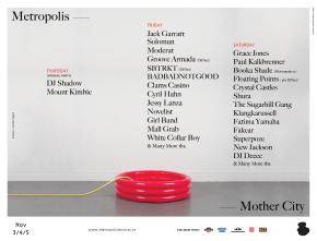 Metropolis 2016 new acts.