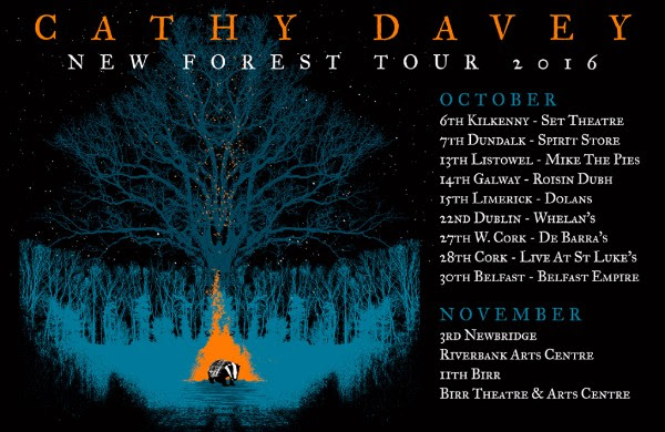 Cathy Davey tour 2016