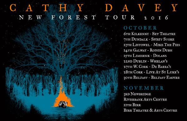 Cathy Davey tour 2016