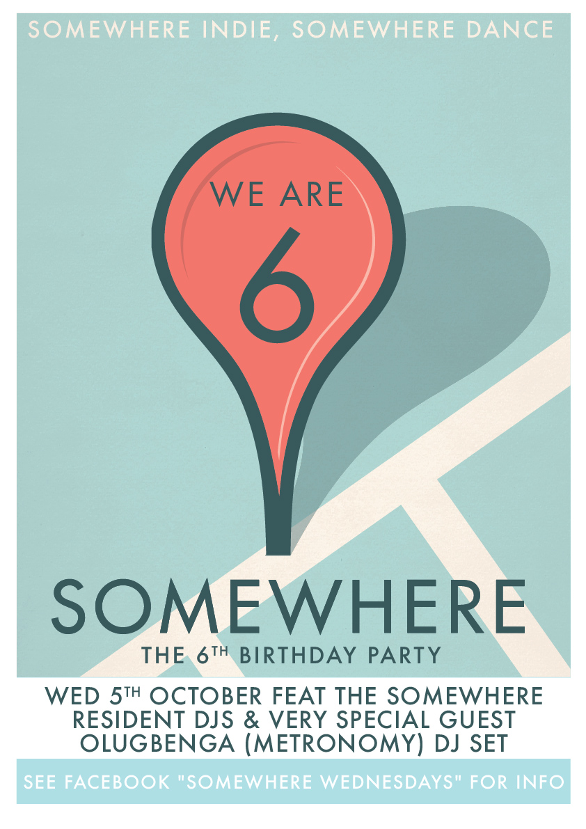 Somewhere? is 6!