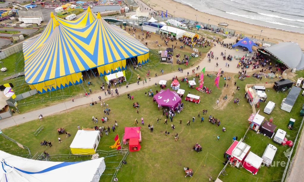 Sea Sessions from above.
