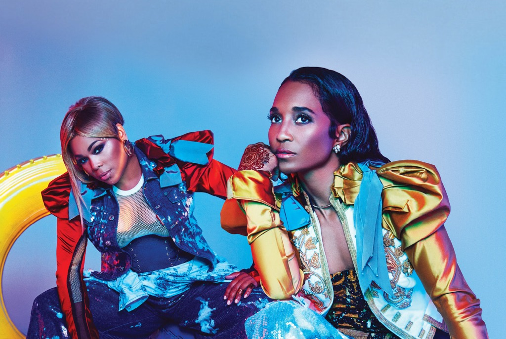 TLC perform on the Sunday of Metropolis Festival.