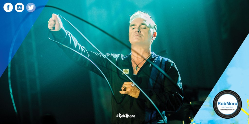 Morrissey will play the 3Arena, Dublin in 2018.