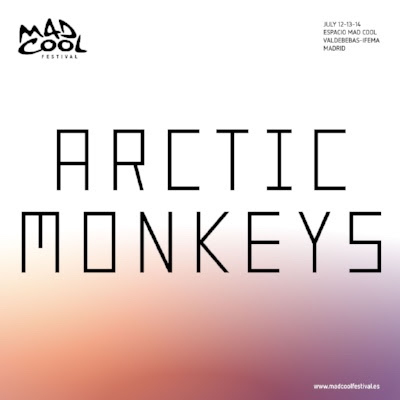Arctic Monkeys are announced for Mad Cool this year.