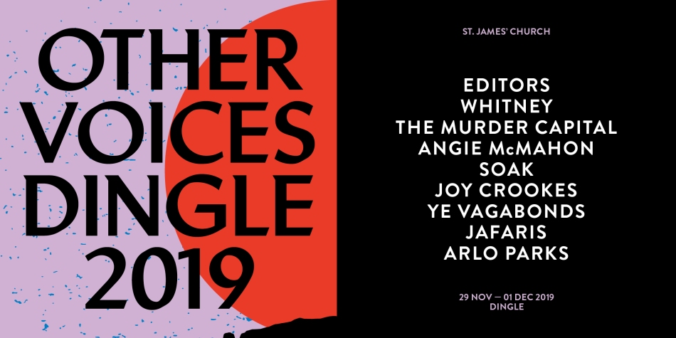 The line-up for this year's Other Voices Dingle.