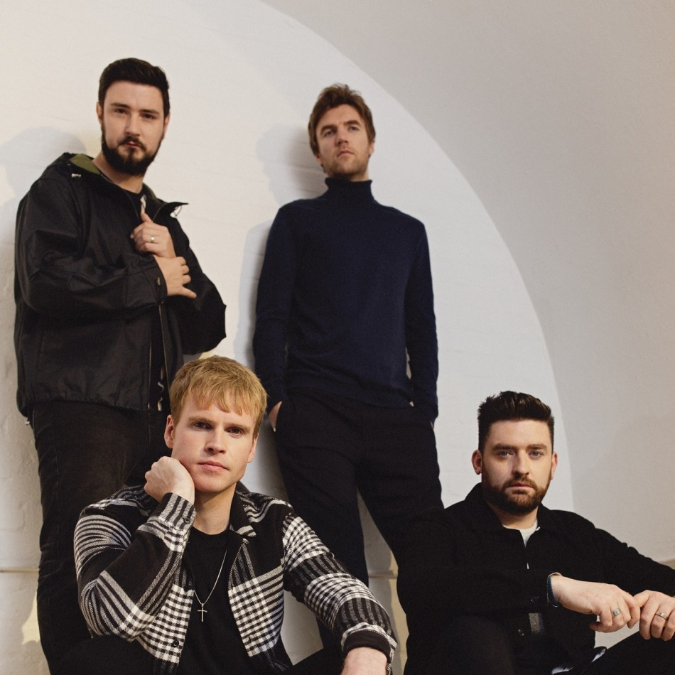 Kodaline photo by Luc Coiffait